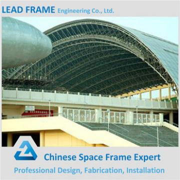 Lightweight Steel Space Frame Galvanized Prefabricated Roofing for Stadium