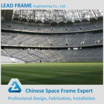 large span steel structure space frame for stadium canopy