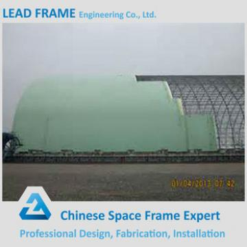 Dome Shape Steel Structure Prefabricated Shed For Coal Yard