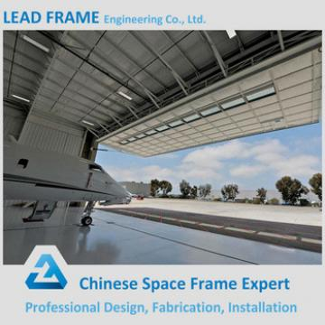 Long span space frame steel structure hanger for sale