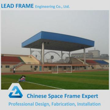 Prefab Steel Space Frame Structure Indoor Gym Bleachers