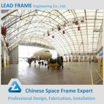 Long Span Light Steel Structure Aircraft Hangar with Steel Framework