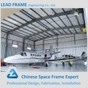 waterproof steel structure space frame for airplane hangar construction