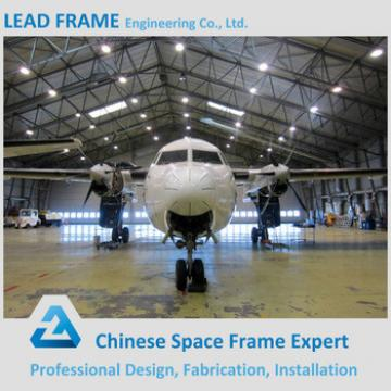 Steel Structure Building Fabric Aircraft Hangars