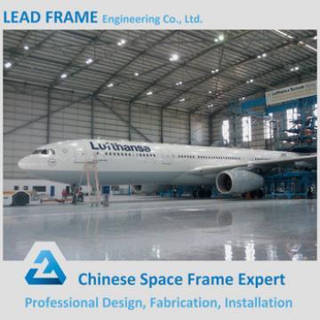 Flexible Design Prefab Structural Steel Beam Steel Constructed Aircraft Hangar