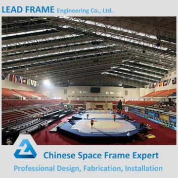 Prefab Steel Spaceframe Buildings Stadium Roof Truss Systems