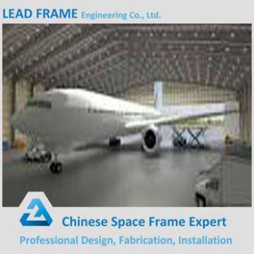Prefab steel structure building airplane hangar