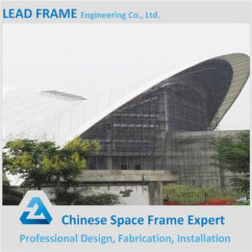 Arched space frame prefabricated gym build for physical culture