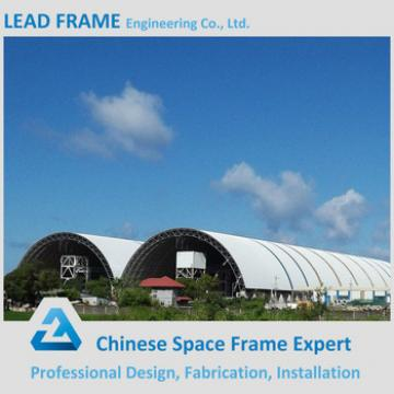 Power plant steel structure shed for coal storage