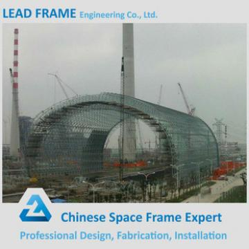 flexible customized design arched roof building barrel coal storage