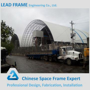 practical design steel structure quotation sample for barrel coal storage