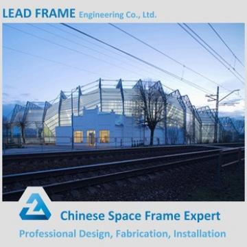 Gauge steel roof for tennis court