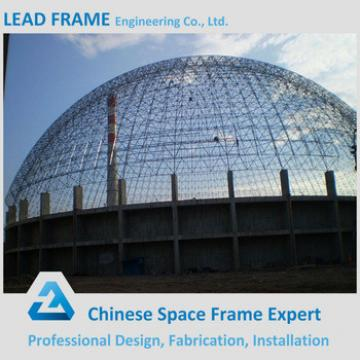 Prefab Lightweight Steel Dome Structure for Coal Power Plant