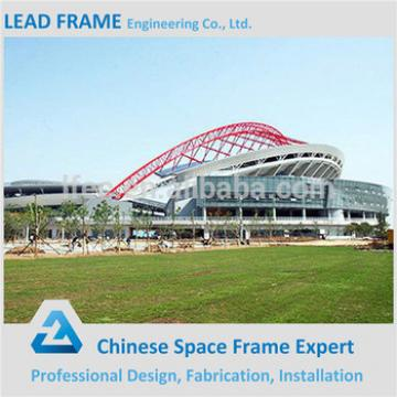 Space frame prefabricated sports arena
