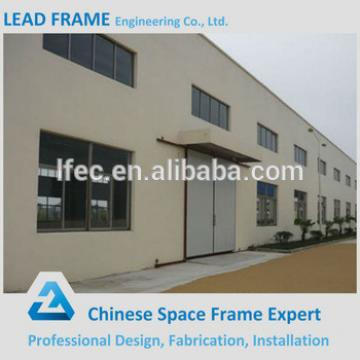 Prefab Factory Building Galvanized Steel Workshop Structure