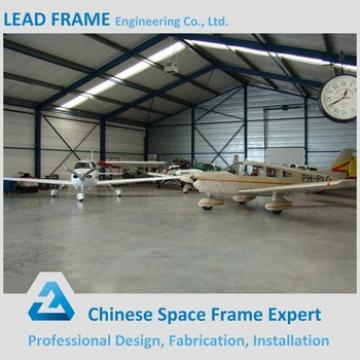 Prefab Construction Steel Structure Portable Aircraft Hangar