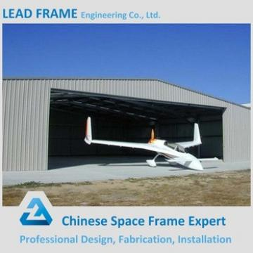 China Large Span Light Steel Frame Low Cost Airplane Hangar