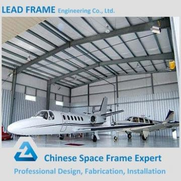 Wide Span Light Prefabricated Metal Shed Airplane Hangar