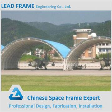 Prefab construction steel structure prefeb aircraft hangar