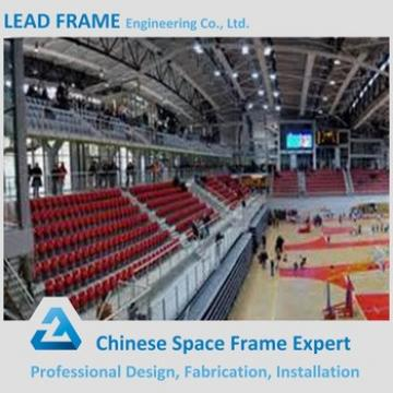 Economical Long Span Prefabricated Steel Structure Basketball Stadium