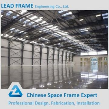 Large scale pre fabricated metal factory hangar