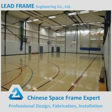 Free Design Prefabricated Steel Structure Curved Roof Truss Sports Hall