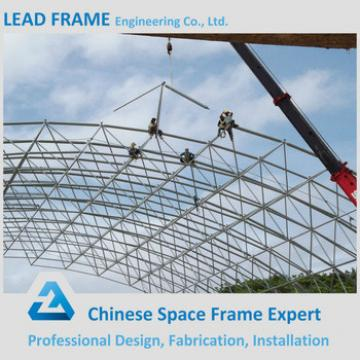 Double Layers Bolt Ball Space Frame Structure Construction Drawings
