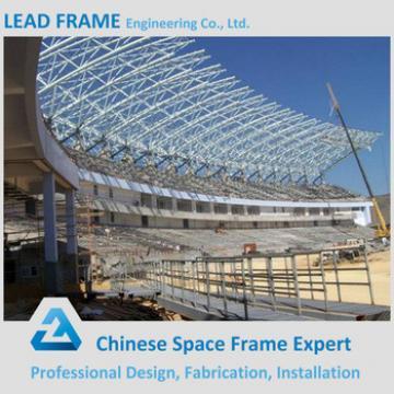 Light metal structural prefabricated steel roof coal storage