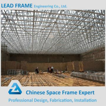 durable prefabricated steel structure space frame arched roof truss