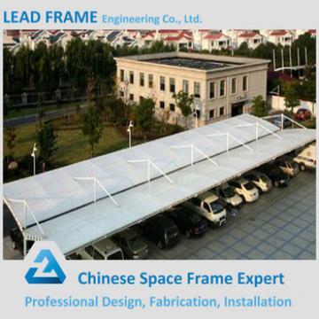 Prefab Waterproof Galvanized Steel Frame Car Canopies Shed Truss