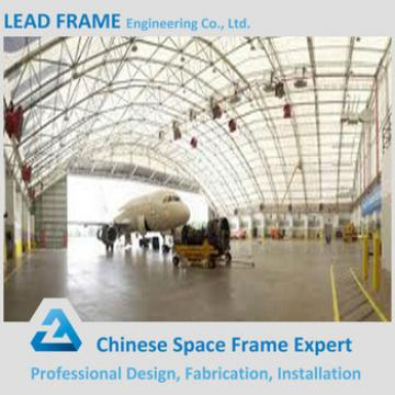 easy assemble prefabricated airplane hangar
