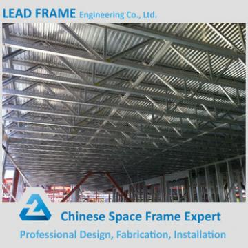 Corrugated Steel Roof Trusses for Space Frame Building