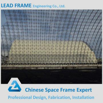 Lightweight Steel Space Frame Power Plant With Storage Building