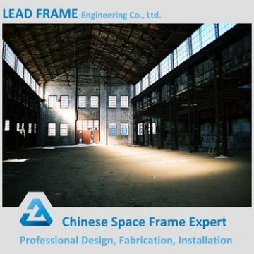 Prefabricated Steel Roof Frame For Large Steel Building Construction