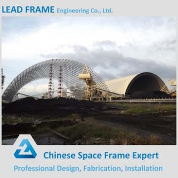 Power Plant Construction Space Frame Steel Vaulted Roof