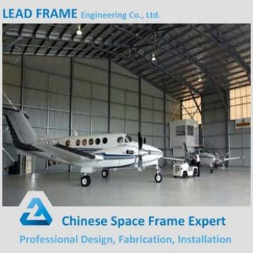 Wide Span Light Steel Frame Structure Aircraft Hangar Construction