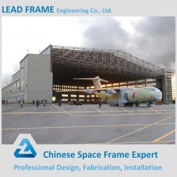 Light Structure Steel Fabrication for Cheap Prefab Hangar