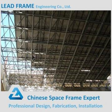 Prefab space frame roofing steel truss for building