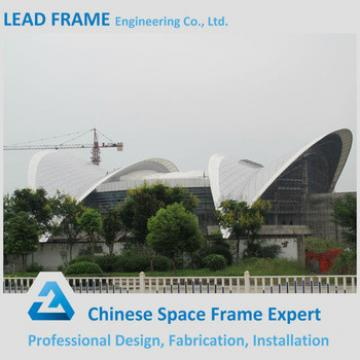 Arch Steel Space Frame Roofing System For Indoor And Outdoor Stadium/Sports Central Hall