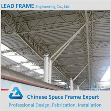 galvanized cheap steel structure space frame arched roof truss