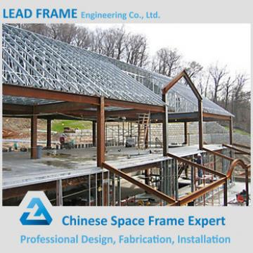 Outdoor Stage Waterproof Shed Galvanized Framing Square Truss