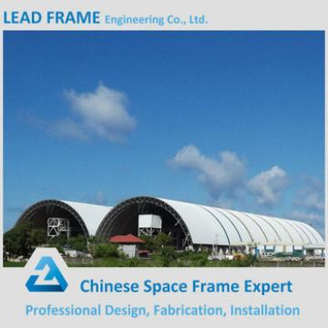 Long span space structure dome coal shed