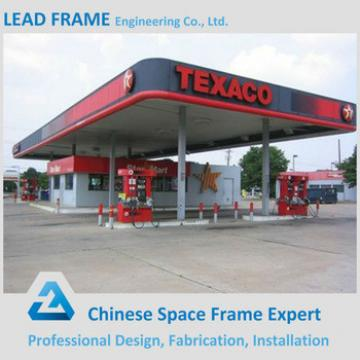 light weight prefabricated service station canopy metal roof & Buy light weight prefabricated service station canopy metal roof ...