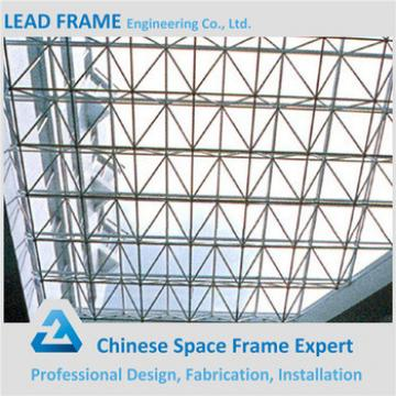 Buy easy quick installation glass skylight roof - Qingdao XGZ Steel