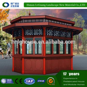 Temporary low cost prefabricated eps houses/guard room/kiosk