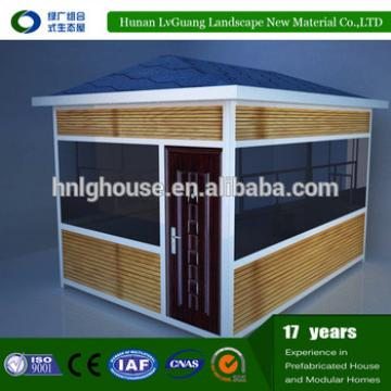 Prefabricated house design of the containers