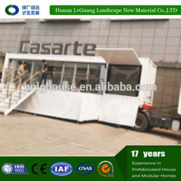 Rust proof modern steady prefabricated summer house