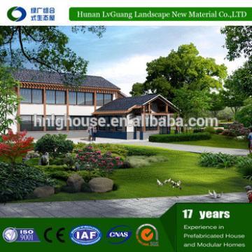 Buy modern European style villas prefab houses modular home villas