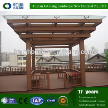 2016 outdoor durable wooden garden gazebo / gazebo customized