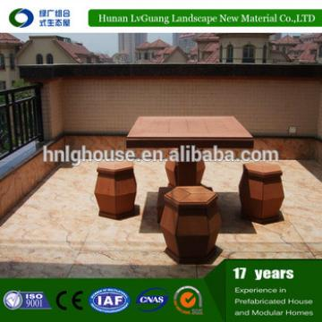 High Quality Outdoor WPC Wooden Garden Furniture